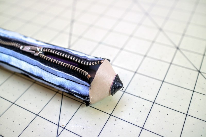 how to make a pencil case step by step