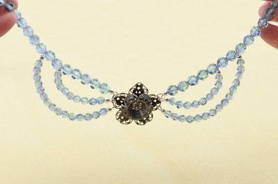 How to make a beaded necklace. Gatsby Style Necklace - Step 17
