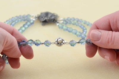 How to make a beaded necklace. Gatsby Style Necklace - Step 20