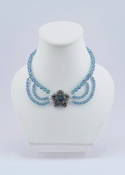 How to make a beaded necklace. Gatsby Style Necklace - Step 25
