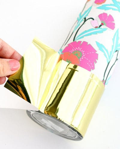 How to make a vase. Wrapped Patterned Vases - Step 2
