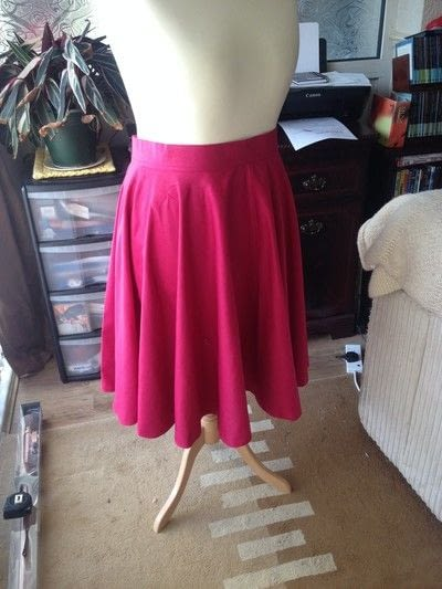 How to make a circle skirt. How To Make A Circle Skirt - Step 15