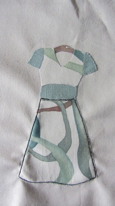 How to applique . How To Make A Free Motion Embroidery Picture - Step 6