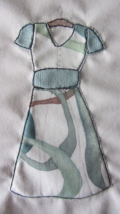 How to applique . How To Make A Free Motion Embroidery Picture - Step 7