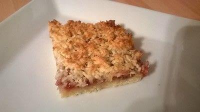 How to bake a bar / slice. Coconut & Strawberry Slice - Step 9
