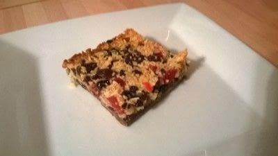 How to bake a bar / slice. Florentine Slice - Step 7