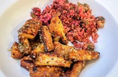 How to cook a chicken dish. Orange & Sesame Quorn Chicken - Step 7