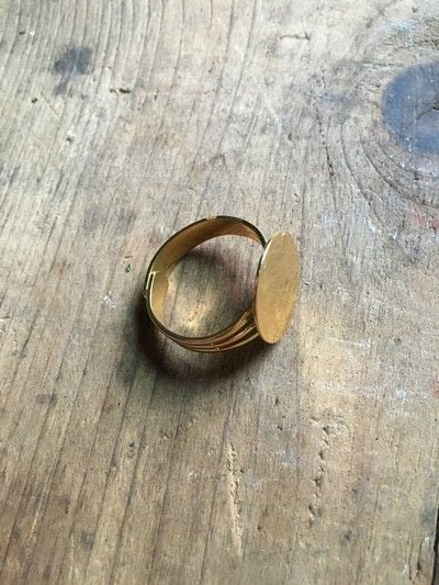 How to make a ring. Succulent Ring - Step 1