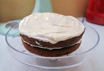How to bake a cake. Date & Ginger Cake - Step 8