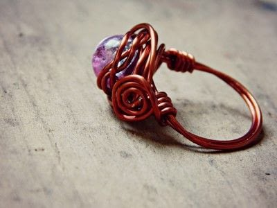 How to make a wire wrapped ring. Wire Wrap Rings - Step 7