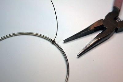 How to make a bangle. Button Bangle - Step 2