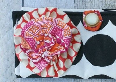 How to make a pouch, purse or wallet. Marimekko Emergency Kit - Step 5