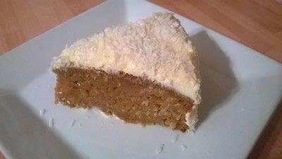 How to bake a pumpkin cake. Pumpkin & Coconut Cake - Step 10