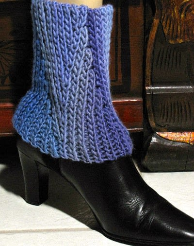 How to make a boot cuff. Slip Slope Set: Scarf & Boot Cuffs - Step 7