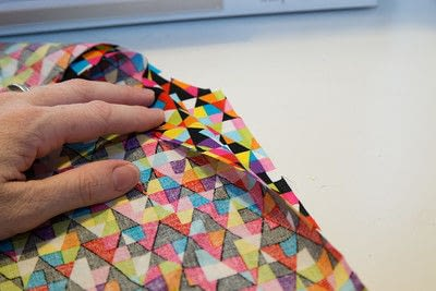 How to make a reversible tote. Reversible Shopper Tote - Step 2