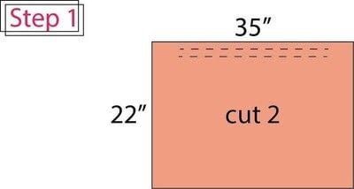 How to make a pencil skirt. Flat Front Elastic Waist Pencil Skirt - Step 1