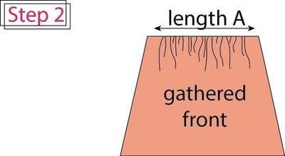 How to make a pencil skirt. Flat Front Elastic Waist Pencil Skirt - Step 2