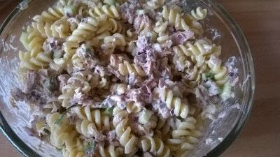 How to cook pasta. Tuna Pasta Salad  - Step 5