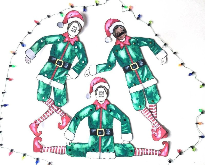 It is a picture of Rare Elf Yourself Printable