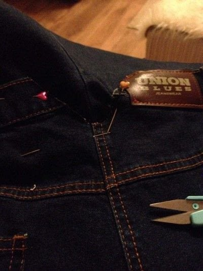How to make a pinafore dress. Making A Pinafore Dress Out Of An Old Pair Of Jeans - Step 9