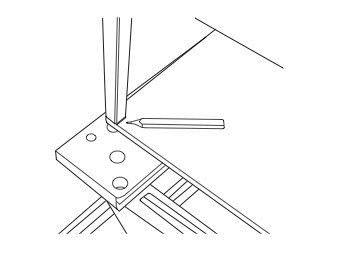 How to make a bar cart. Rolling Bar Cart - Step 1