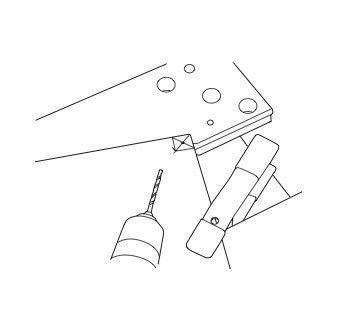 How to make a bar cart. Rolling Bar Cart - Step 4