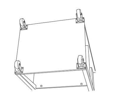 How to make a bar cart. Rolling Bar Cart - Step 8