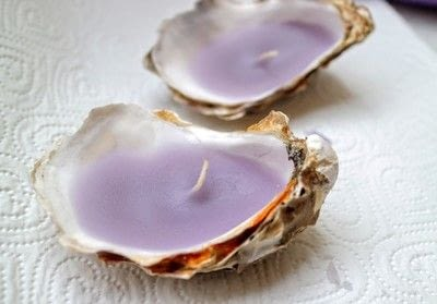 How to make a shell candle. Seashell Candles - Step 9
