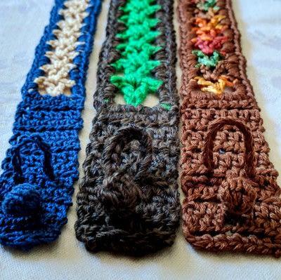 How to stitch a knit or crochet bracelet. Valor Bracelets - Step 6