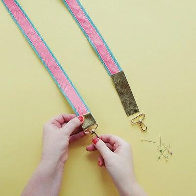 How to make a camera strap. Handmade Camera Strap - Step 3