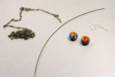 How to make a chain earring. Chain Drop Earrings - Step 1