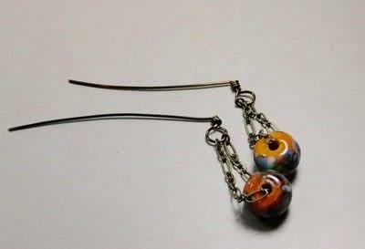 How to make a chain earring. Chain Drop Earrings - Step 7