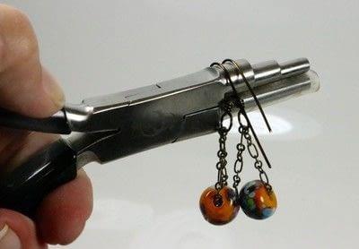 How to make a chain earring. Chain Drop Earrings - Step 8