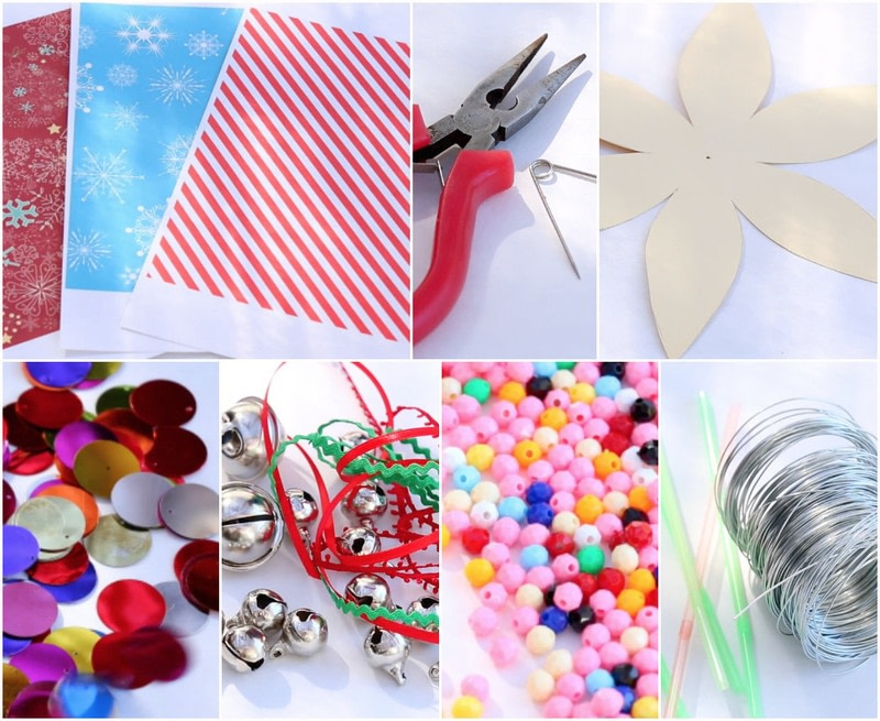 Paper Christmas Ornaments · How To Make A Piece Of Paper ...