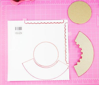 How to make a cake stand. Diy Cardboard Cupcake Stand - Step 2