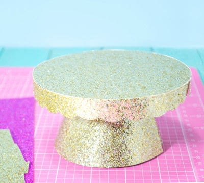 How to make a cake stand. Diy Cardboard Cupcake Stand - Step 12