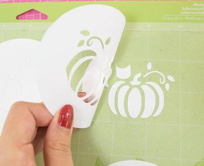 How to make a stencil. Diy Fall Latte Art Stencils - Step 6