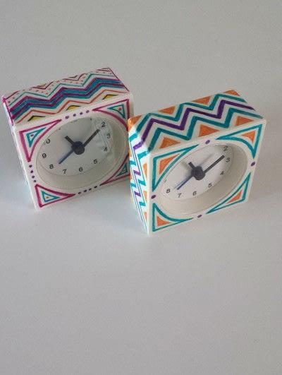 How to make a clock. Ikea Hack  Sharpied Alarm Clock Diy - Step 6