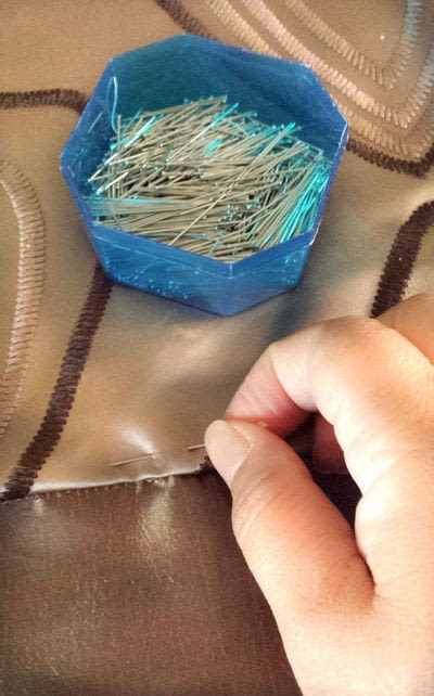 How to make a pillow. Fabric Swatch For Throw Pillows Diy - Step 4