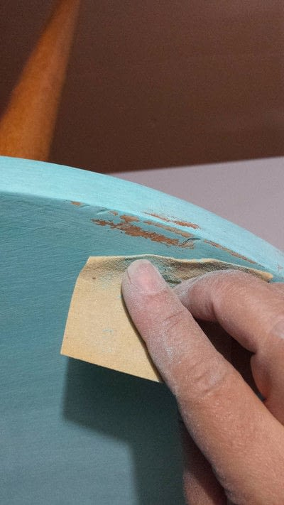 How to make a coffee table. Distressed Coffee Table Diy - Step 5