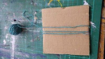How to make a tassels. Tassels! - Step 2