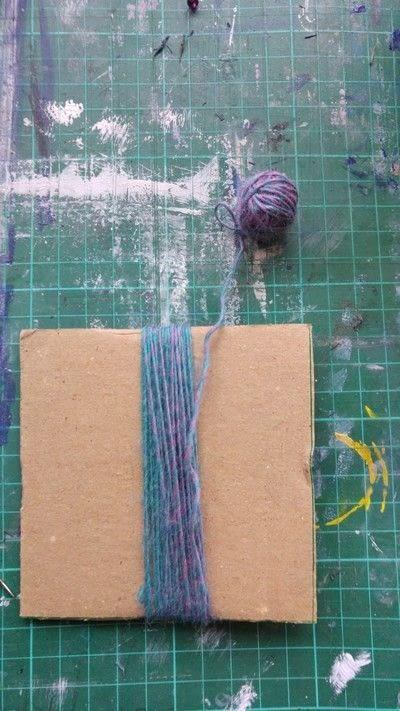 How to make a tassels. Tassels! - Step 3