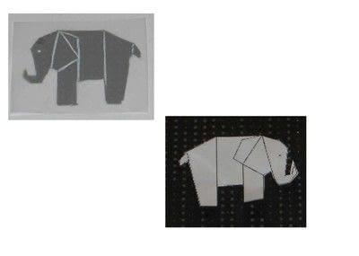 How to make a decorative light. Origami Themed Tea Lights - Step 2