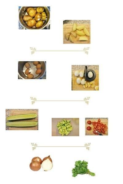 How to cook a greek salad. Greek Salad - Step 1
