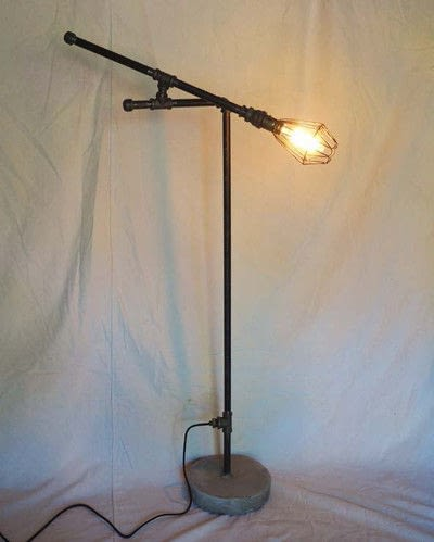 Steampunk floor lamp extract from diy industrial pipe furniture how to make a floor lamp steampunk floor lamp step 37 solutioingenieria Images