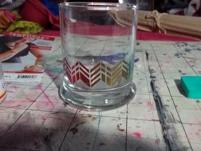 How to make a mixed media. Tattoo Jar - Step 7