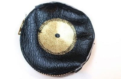 How to make a zipper pouch. Record Coin Purse - Step 15