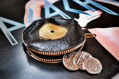How to make a zipper pouch. Record Coin Purse - Step 16