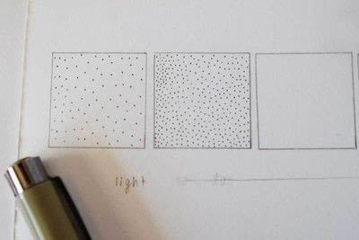 How to make a drawing. Using Stippling To Create Value - Step 5