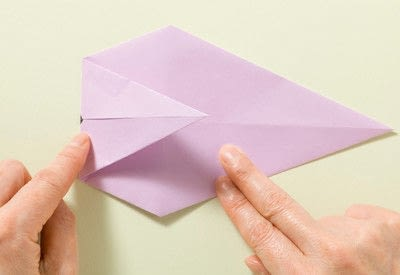 How to fold an origami animal. Origami Mouse - Step 10